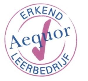 logo Aequor leerbedrijf