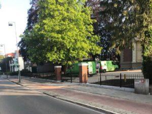 Ontwerp en realisatie kerkplein St. Vituskerk Hilversum